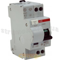 Дифференциальный автомат В 20А 30мА (0,03А) DS 951 АВВ