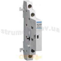 Дополнительный контакт Hager MZ520N 250 В/2 А, 1НВ+1НЗ, 0,5 модуля