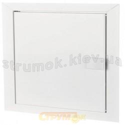 Дверца ревизионная пластиковая двустворчатая Д 400х400 VENTS
