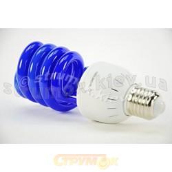 Лампа энергосберегающая DELUX ERS-02A 26W E-27 голубая