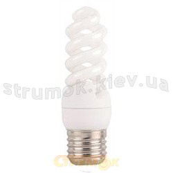 Энергосберегающая лампа КЛЛ Delux Mini Full-spiral 9Wатт 2700K E27