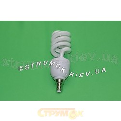 Лампа энергосберегающая DELUX Slim Semi-spiral 15Wатт 4100K E14.