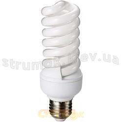 Энергосберегающая лампа КЛЛ Delux Т2 Full-spiral 20Wатт 2700K E27
