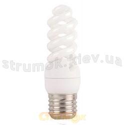 Энергосберегающая лампа КЛЛ Delux Т2 Mini Full-spiral 9Wатт 2700K E27