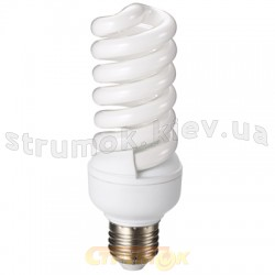 Энергосберегающая лампа КЛЛ Delux ТЗ Full-spiral 23Wатт 4100K E27