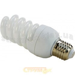 Лампа энергосберегающая EUROLAMP КЛЛ Т2 Spiral 9W 4100K E27 (25) LN-09274