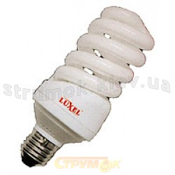 Энергосберегающая лампа КЛЛ Luxel Standard Spiral 20W Е27 210 - N