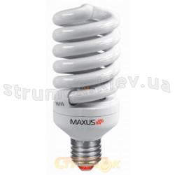 Энергосберегающая лампа КЛЛ  Maxus T3 Full spiral 15Wатт 2700K Е-27 (LSL-1527) (Цена за упаковку-3шт).