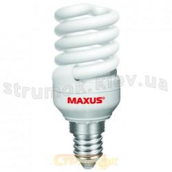 Энергосберегающая лампа КЛЛ  Maxus T3 Full spiral 15Wатт 4100. Е-27 (3-LSL- 1541) (упаковка-3шт)