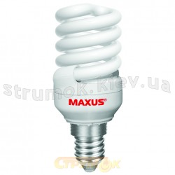 Энергосберегающая лампа КЛЛ Maxus T3 Full spiral 15Wатт 4100K Е-27 (LSL-1541) (Цена за упаковку-3шт).