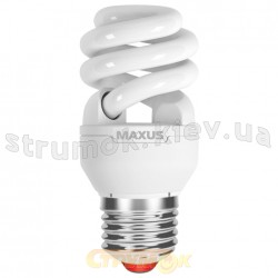 Энергосберегающая лампа КЛЛ Maxus T3 Full spiral 20Wатт 4100 Е-27 (LSL-2041) (Цена за упаковку-3шт)