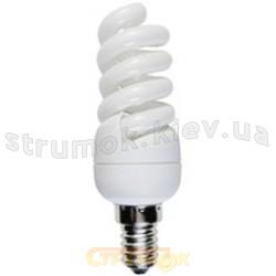 Энергосберегающая лампа КЛЛ Спираль E-14 11W 4100K S14D11C Odeon