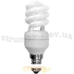Энергосберегающая лампа КЛЛ Спираль E-14,11W,4100K. S14D11F Odeon
