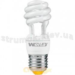 Энергосберегающая лампа КЛЛ Volta 15Вт E27 3U теплобелая