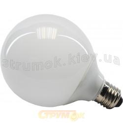 Лампа энергосберегающая 15Вт E27 куля теплобелаяVolta