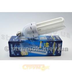 Лампа энергосберегающая 40Вт E27 4U естественная Volta