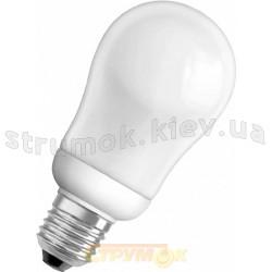 Лампа энергосберегающая 9Вт E27 A60 теплобелая Volta