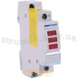Индикатор тройной LED 230В красный 1м SVN127 Hager