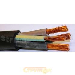 Сварочный медный кабель КГ 5х4 | провод КГ 5*4 в резиновой изоляции, многожильный, гибкий
