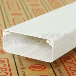 Кабельный короб EKD 100X40 HD 2м Копос Чехия 8595057690530 пластиковый белый цвет