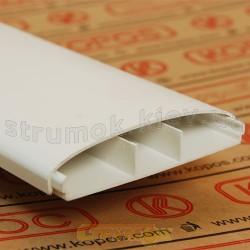 Кабельный короб LE 100 HD Элегант 2м Копос Чехия 8595057621008 пластиковый белый цвет 100x21мм