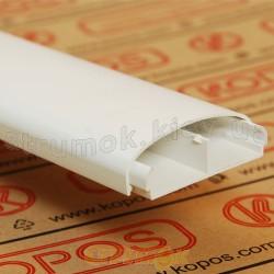 Кабельный короб LE 60 HD Элегант 2м Копос Чехия 8595057620889 пластиковый белый цвет 60x20мм