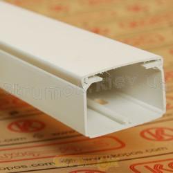 Кабельный короб LH 60X40 HD 2м Копос Чехия 8595057610491 пластиковый белый цвет
