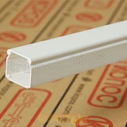 Кабельный короб LHD 20X20 HD 2м Копос Чехия 8595057609617 пластиковый белый цвет