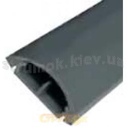 Кабельный напольный короб LO 35 LD 2м Копос Чехия 8595057662193 пластиковый темно - серый 34x10мм
