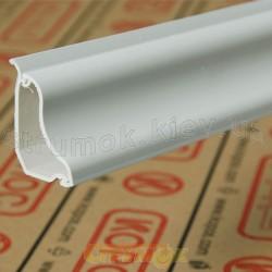 Кабельный плинтусный короб LP 35 HD 2м Копос Чехия 8595057615977 пластиковый белый цвет 35х25х6 мм