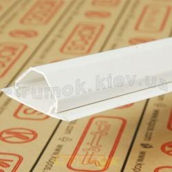 Кабельный угловой короб LR 30 HB Копос Чехия 8595057615908 пластиковый белый цвет 39Х24,5х63мм
