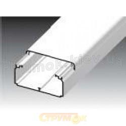 Кабельный короб напольный LO 35 35 x 10,5 НD Копос Чехия белый цвет