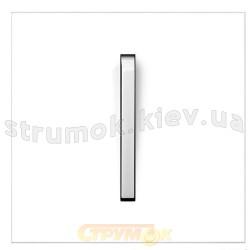 Клавиша 1-одинарная Neo 3559M-A00651 01 ABB белый/белый лед