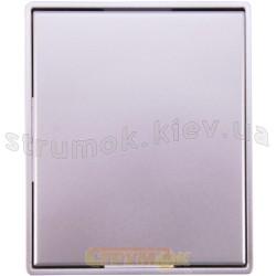 Клавиша 1-одинарная 3558Е-А00651 32 ABB Time серебристый металлик