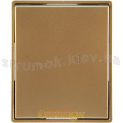 Клавиша 1-одинарная 3558Е-А00651 33 ABB Time шампань / металлик