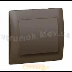 Клавиша 1-одинарная (антрацит) Fiorena 22008410 Hager  Polo