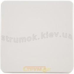 Клавиша 1-одинарная Optima 12008402 Hager / Polo белый цвет