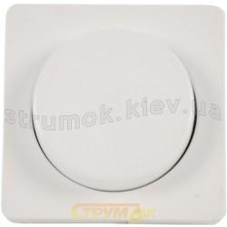 Клавиша для светорегулятора Optima белая 12010002 Polo / Hager
