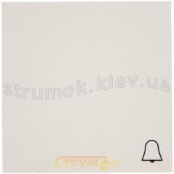 Клавиша Звонок Fiorena 22008702 Hager / Polo белый цвет