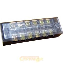 Клеммная колодка ТВ3506 35А 6 полюсов Укрем АсКо A0130050015 в корпусе