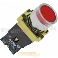 Кнопка красная с подсветкой ХВ2-ВW3471