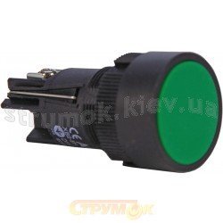 Кнопка зеленая cтарт XB2-ЕН131-NO с фиксацией АСКО