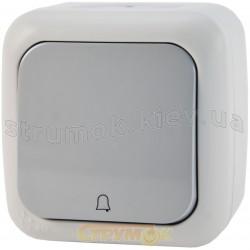 Кнопка звонковая накладная Viko Palmiye IP54 90555406