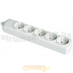 Колодка | кассета 5-гнезд с заземлением SOLERA 21.0009:8005