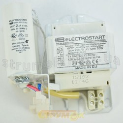Балласт  EL-START ПРА для металло-галогенной лампы 70W/220V/50Hz MHI/HSI