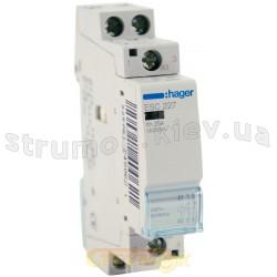 Контактор Hager ESC227 25A катушка 220V 1NO+1NC (ES210)