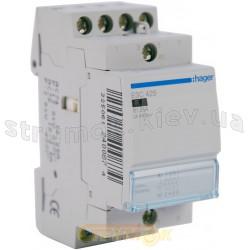 Контактор Hager ESC425 25A катушка 220V 4NO (ES420)