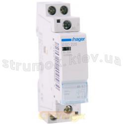 Контактор Hager ESD225 25A катушка 24V 2NO (ES224)