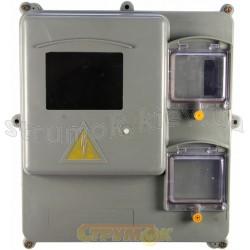 Коробка под счетчик 1-3-ф КДЕ-У мини 6 модулей
