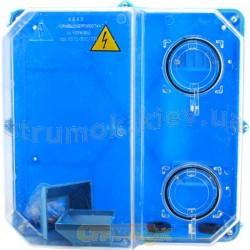 Коробка под счетчик электроэнергии 3-фазный КДЕ-У (глубокая)